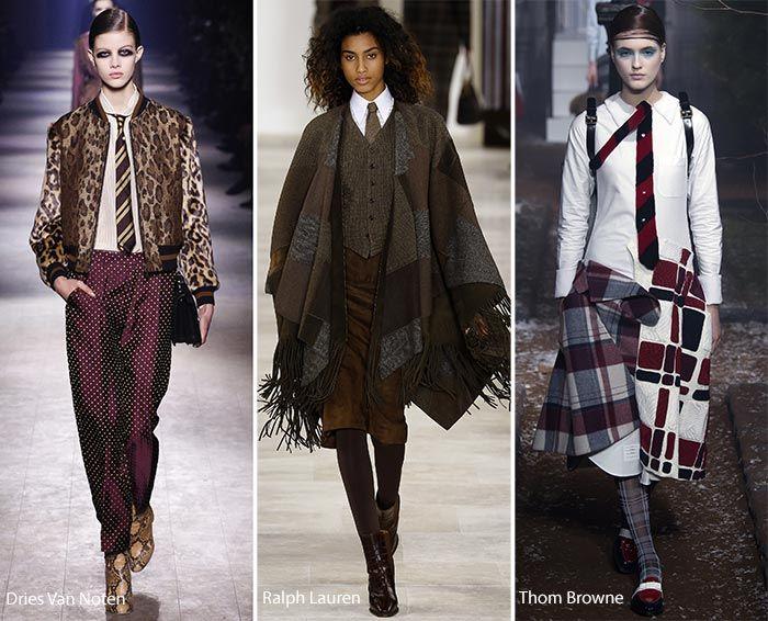 Fall/ Winter 2016-2017 Fashion Trends | Fall winter ...