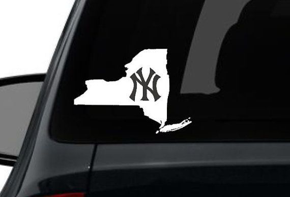 New york yankees car sticker decal