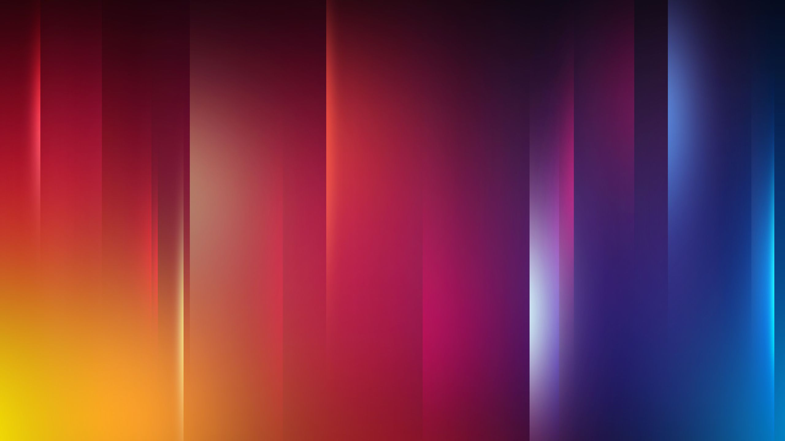 2560x1440 Yellow, Blue, Line, Color, Red Wallpapers and