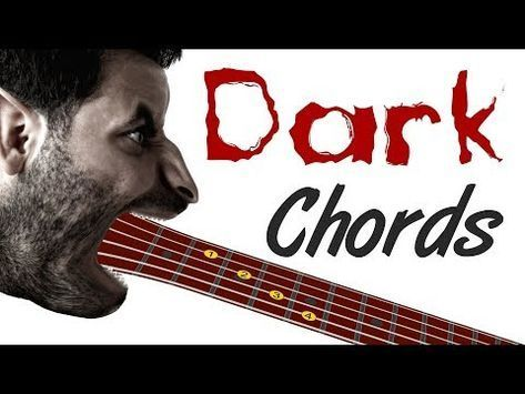 Dark Guitar Chords - Spooky Shapes For Your Music | How To Teach ...