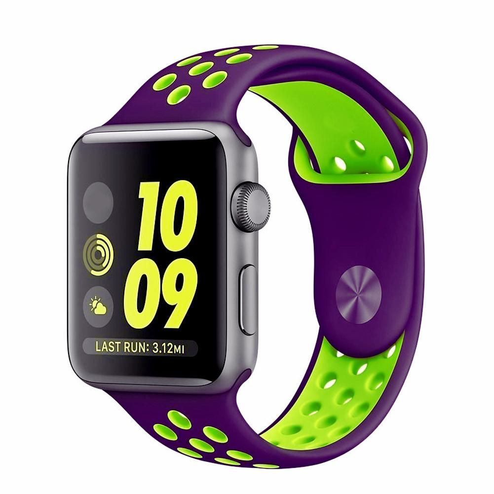 Apple Watch Band, Sport Silicone, for Nike Edition in 2019