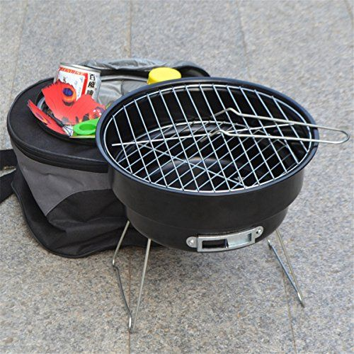 Stainless steel outdoor household couple barbecue brazier ...