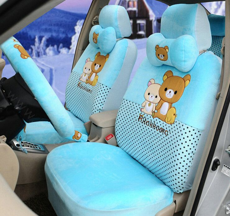 Buy Wholesale Elegant Rilakkuma Universal Auto Dot Car Seat Covers