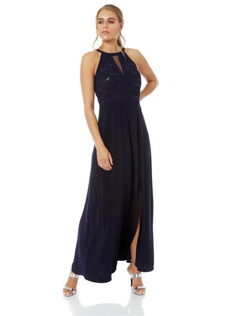 d4cb18e7 Womens *Roman Originals Navy Lace Sequin Embellished Maxi Dress- Blue