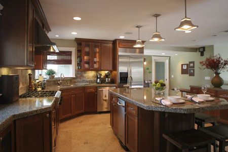 Best Large Beautiful Kitchens Kitchen Remodeling Beautiful 400 x 300