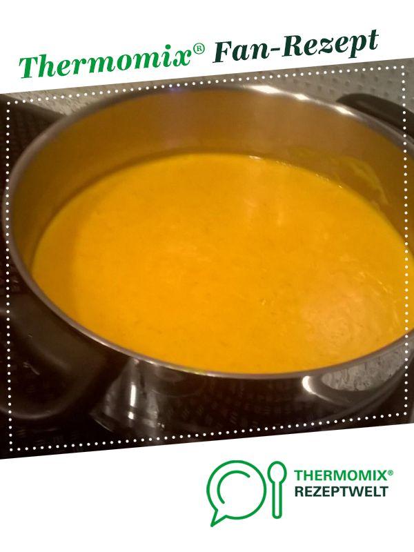 Karotten-Ingwer-Kokosmilch-Suppe