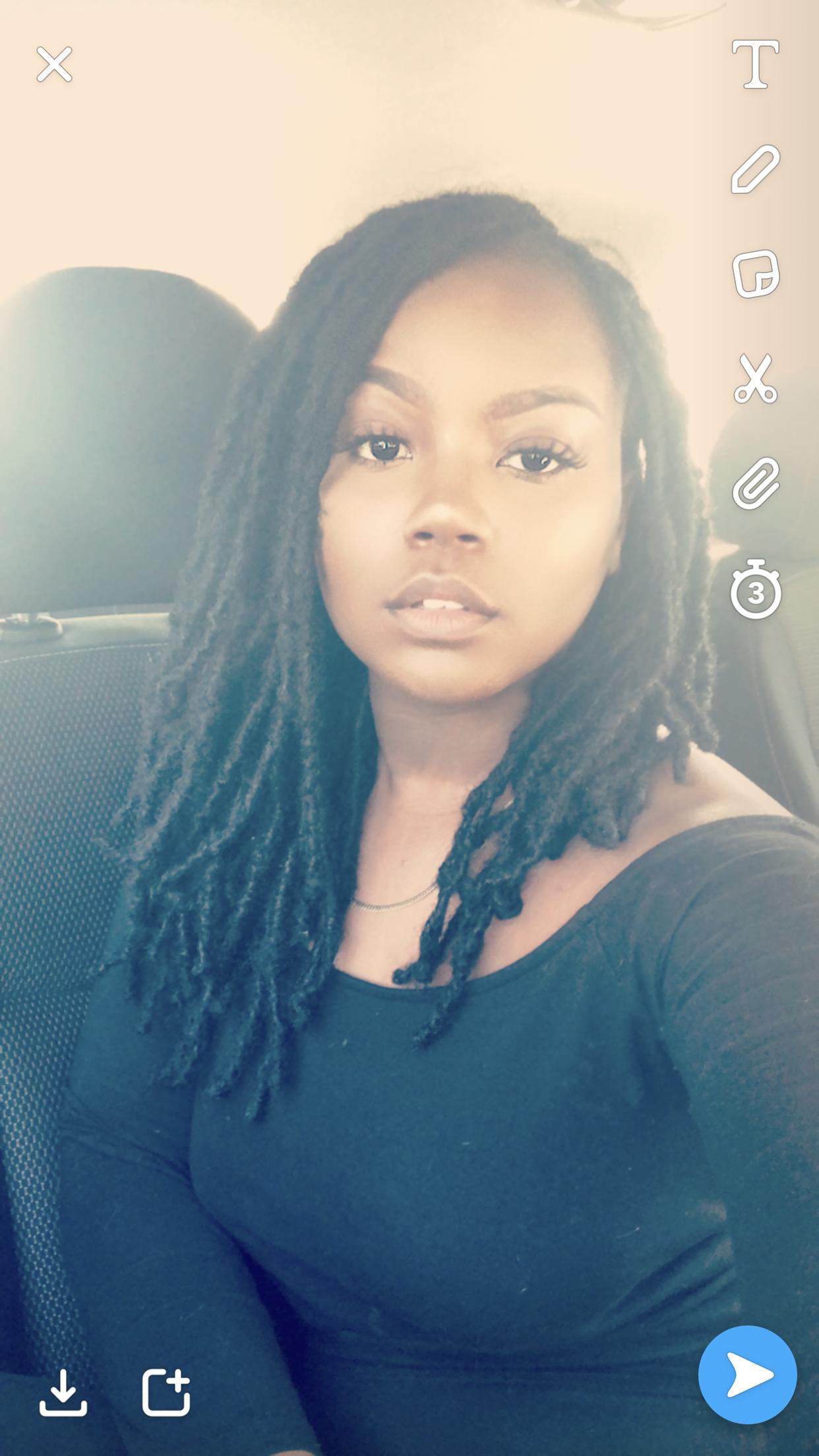Danielle Natural Hair Black Raleigh