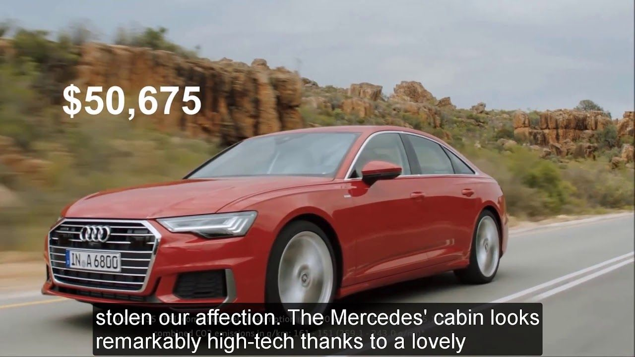 Advancing Technology First Review 2019 Audi A6 Mt Cars See