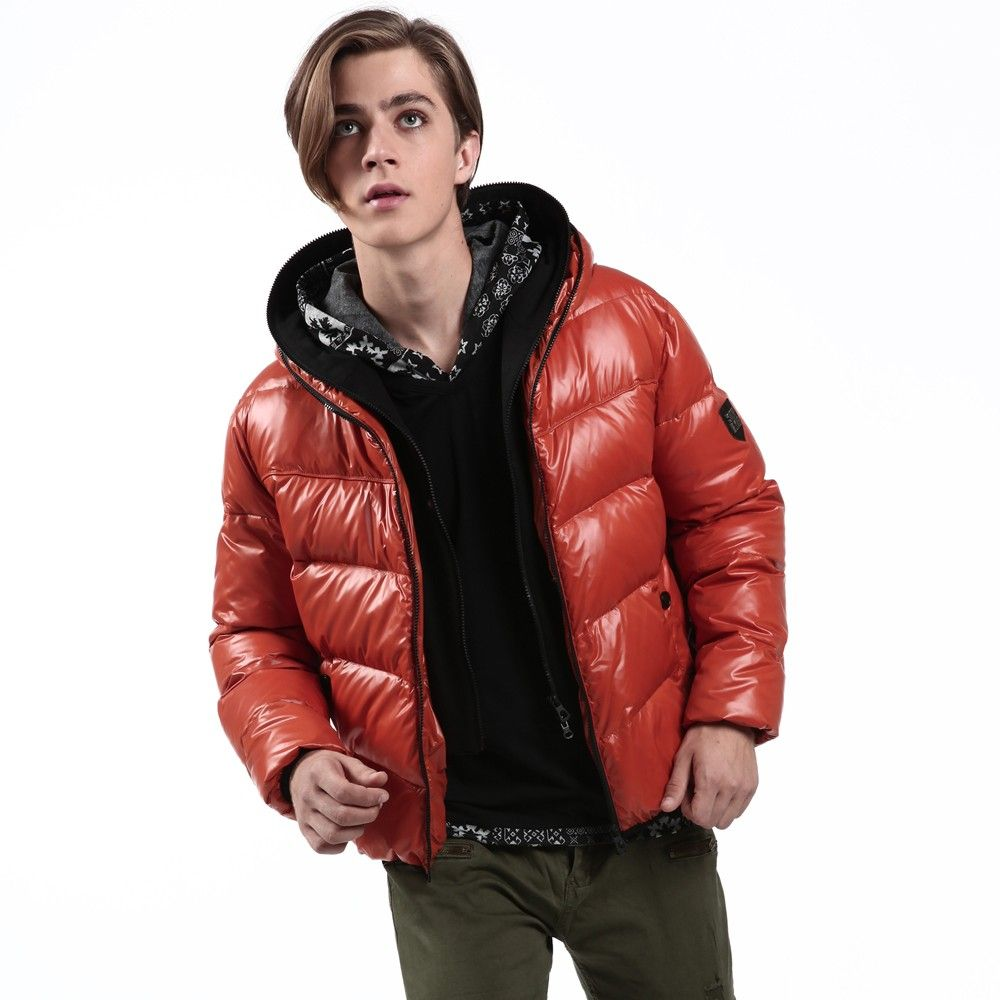 Mens Red Down Jacket