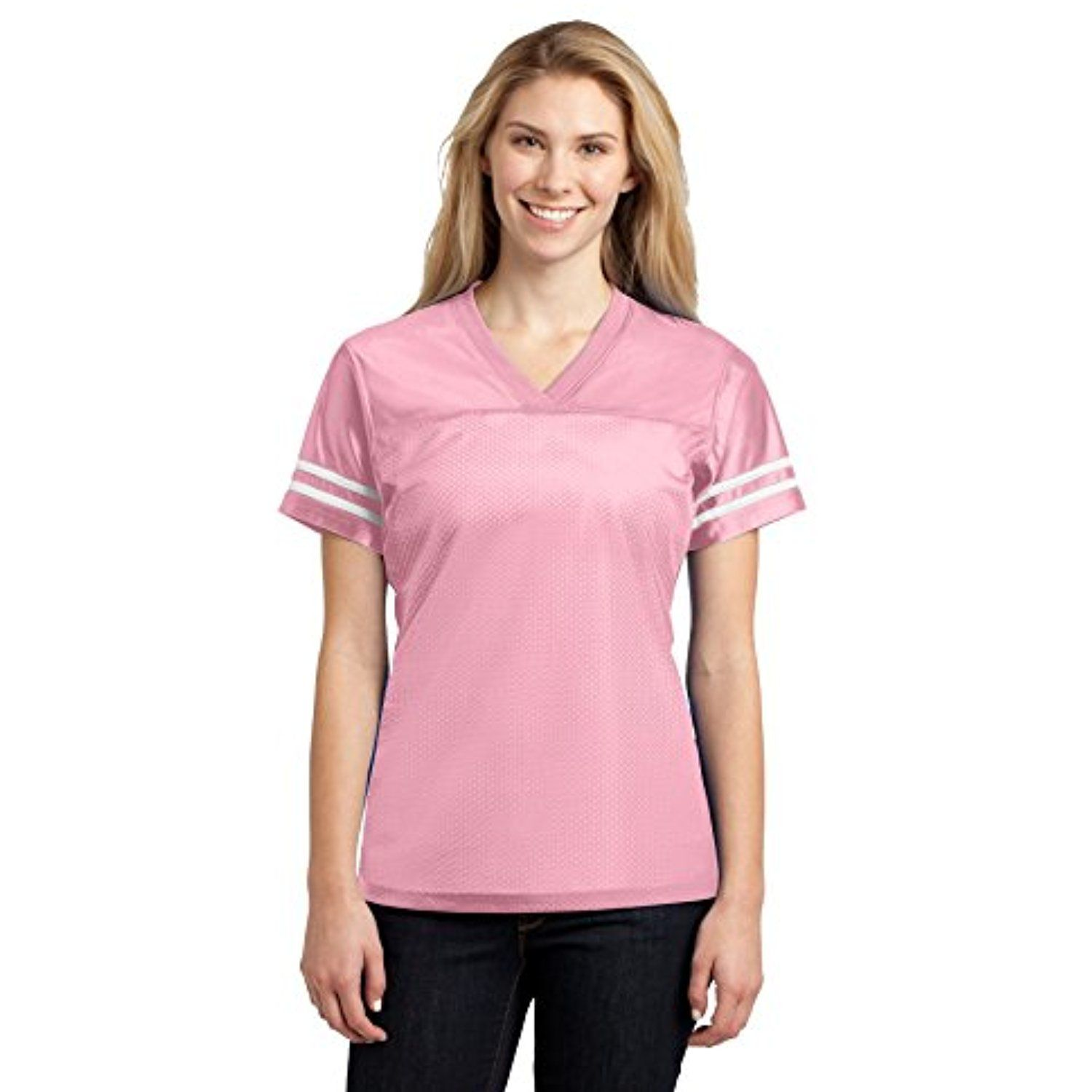 ac84c7c82 Sport-Tek Women s PosiCharge Replica Jersey     Want to know more ...