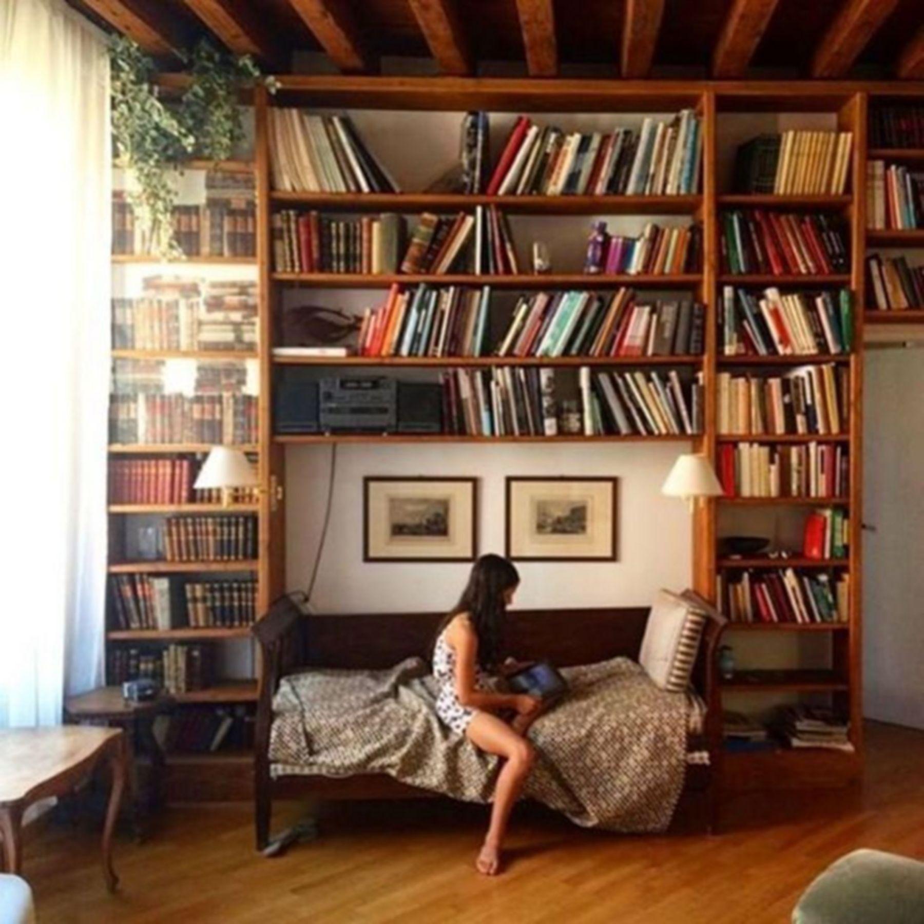 Top 12 Minimalist Bookshelf Design Ideas For Your Bedroom Interior Bookshelves In Bedroom Minimalist Bookshelves Home