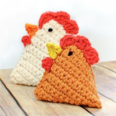 Crochet Chicken Pattern … Little Chick Bean Bag Pattern - Media - Crochet Me free pattern