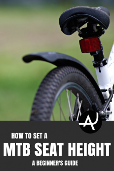 How To Set The Mountain Bike Seat Height Bike Seat Mountain
