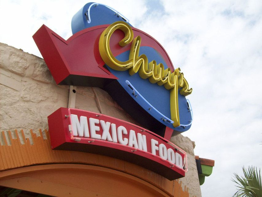 Ion art inc chuys mexican food sign tulsa oklahoma