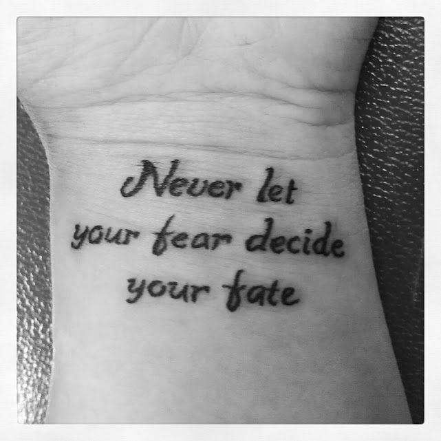 43 Wonderful Quote Wrist Tattoos: 40 Inspirational Creative Tattoo Ideas For Men And Women
