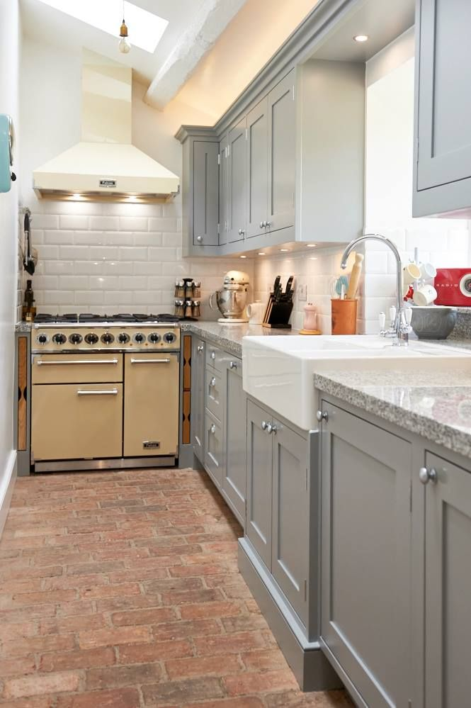 Colour Combination Using Terracotta Floor Kitchen