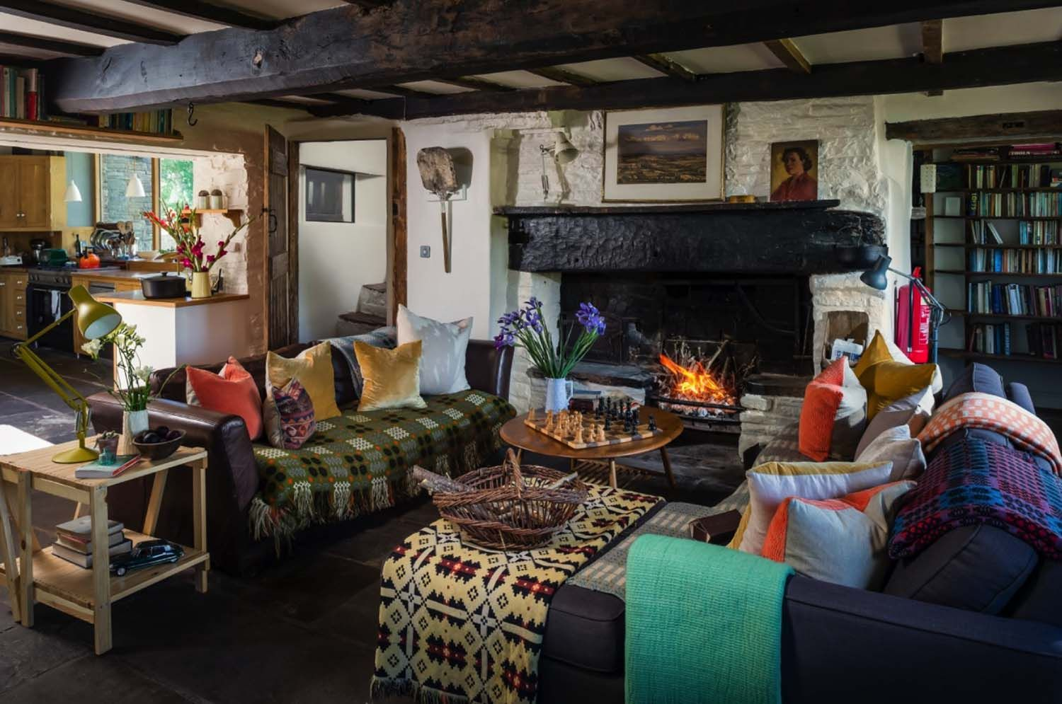 Modern Rustic Cottage In The English Countryside Of Herefordshire Country Cottage Living Country Cottage Living Room Rustic Cottage Decor