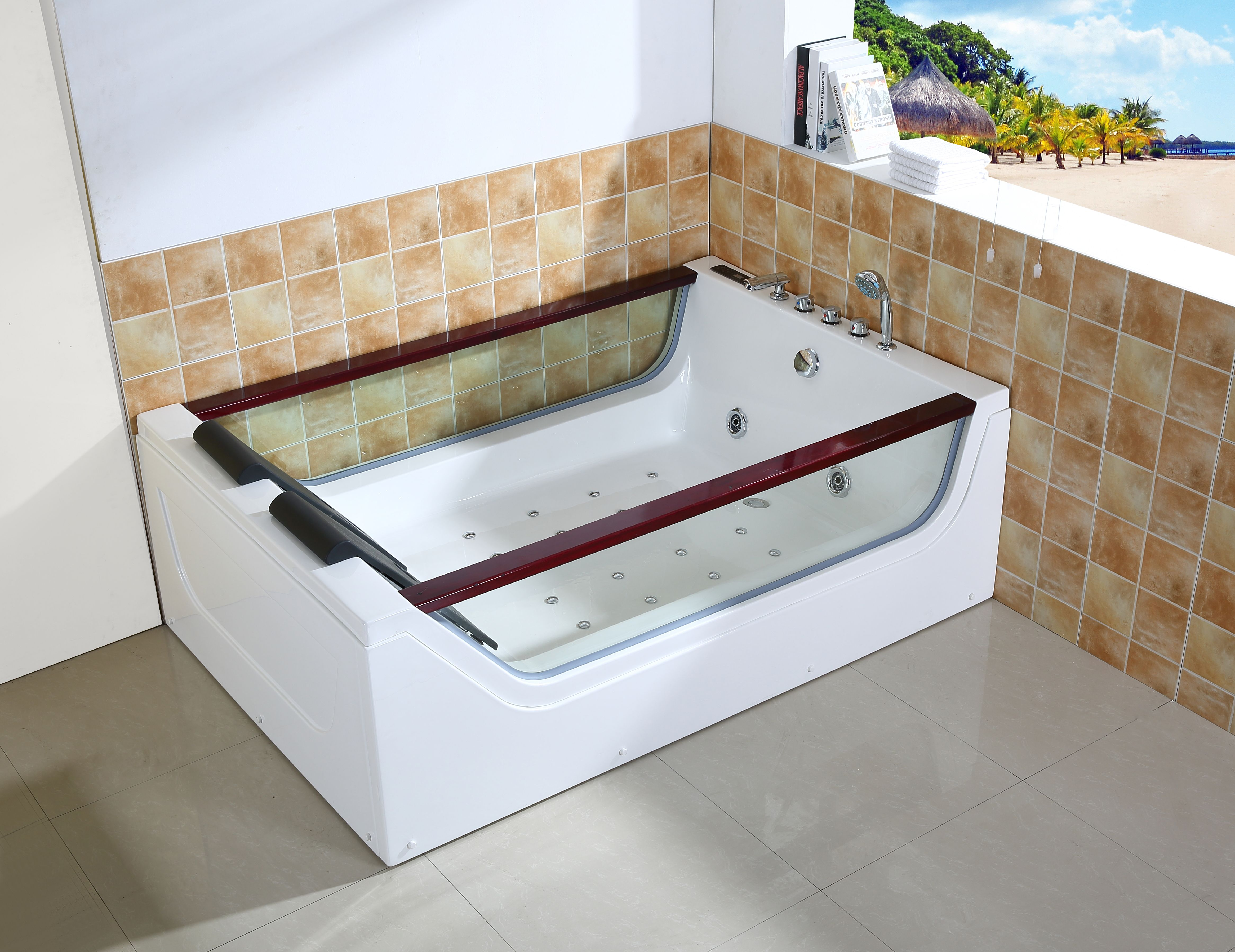 Pin by Candy Chan on Massage bathtub | Pinterest | Clear acrylic ...