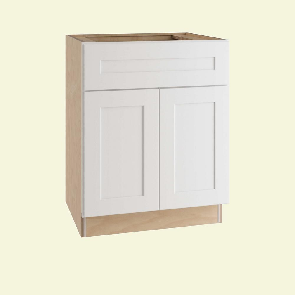 Home Decorators Collection Newport Assembled 24 In X 34 5 In X 24 In Base Kitchen Cabinet With 2 Doors And Base Cabinets Home Decorators Collection Cabinet