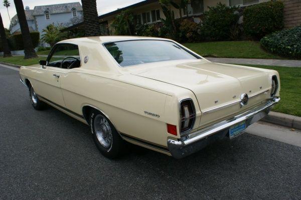 1968 FORD TORINO GT HARDTOP - Looks like my First Car - Mine was Burgundy