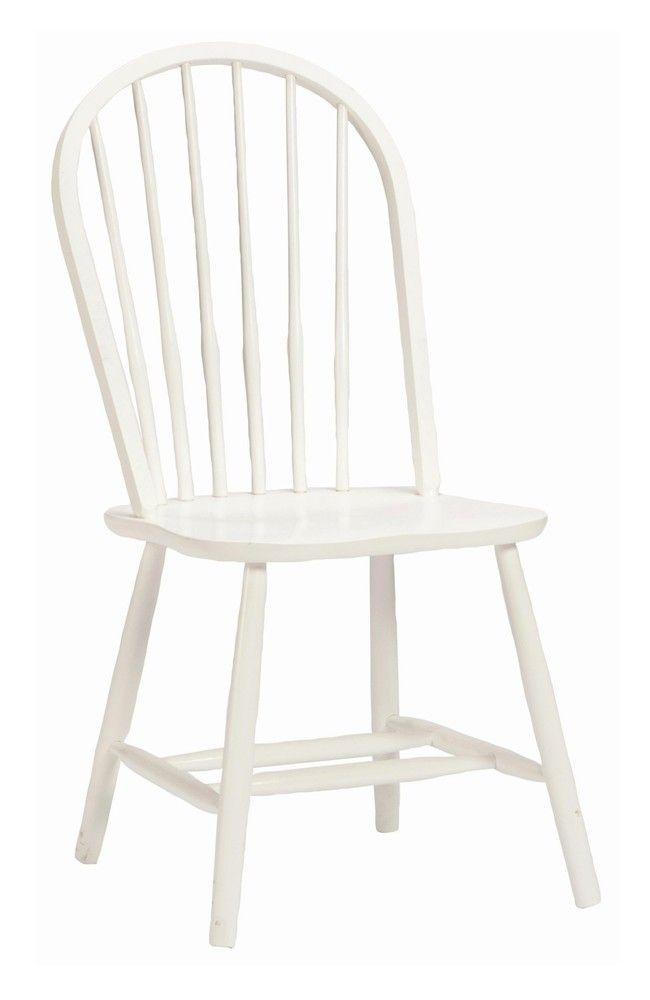 Desk Chair In White Links Alaterre