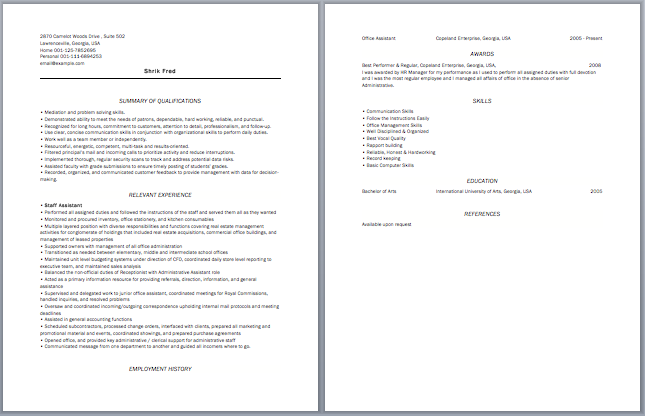 Staff Accountant Resume  Accounting Resume Samples