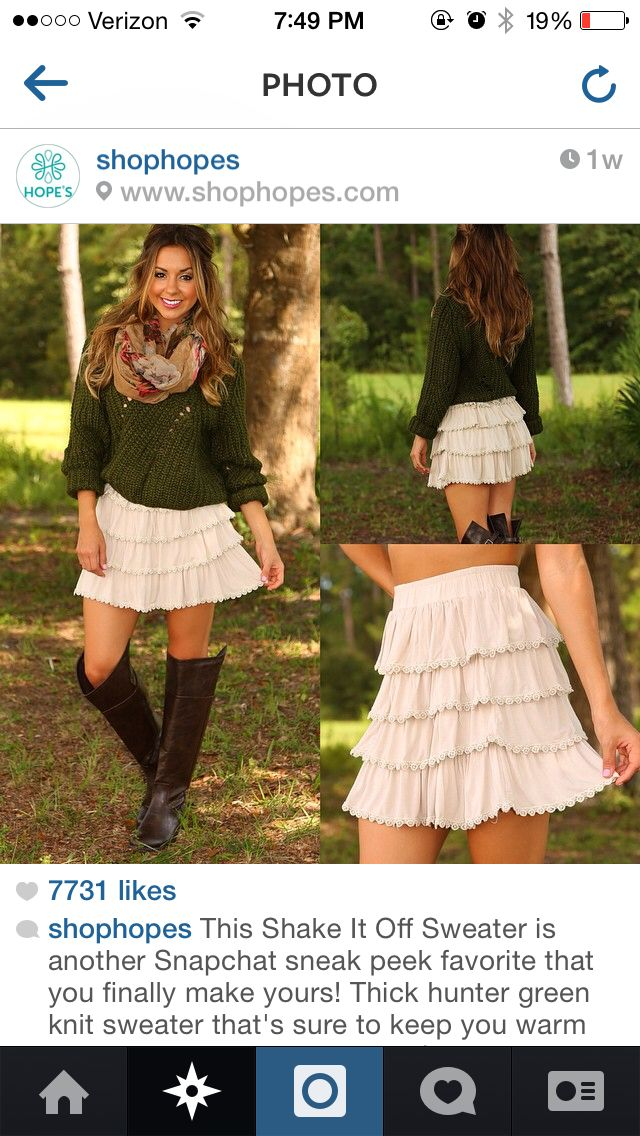 4569a7ad8d Pin by Kimberlyn Fruge on Cooler Weather   Fashion, Skirts, Clothes