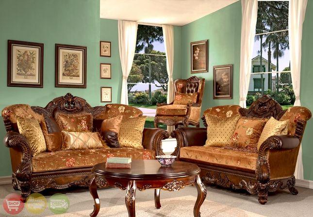 Elegant European Antique Style Living Room Furniture Collection Hd 9023 Antique Living Rooms Elegant Living Room Traditional Living Room Furniture