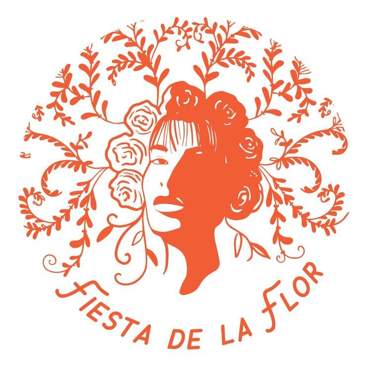 Fiesta De La Flor Branding Project Melinda Rodrigues Selena Quintanilla Logo Design In 2020 Letterpress Poster Identity Development Love Design