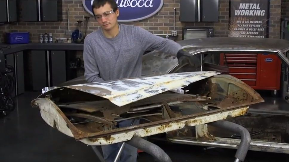 How To Replace A Door Skin In 2020 Auto Body Repair Custom Cars Rat Rod