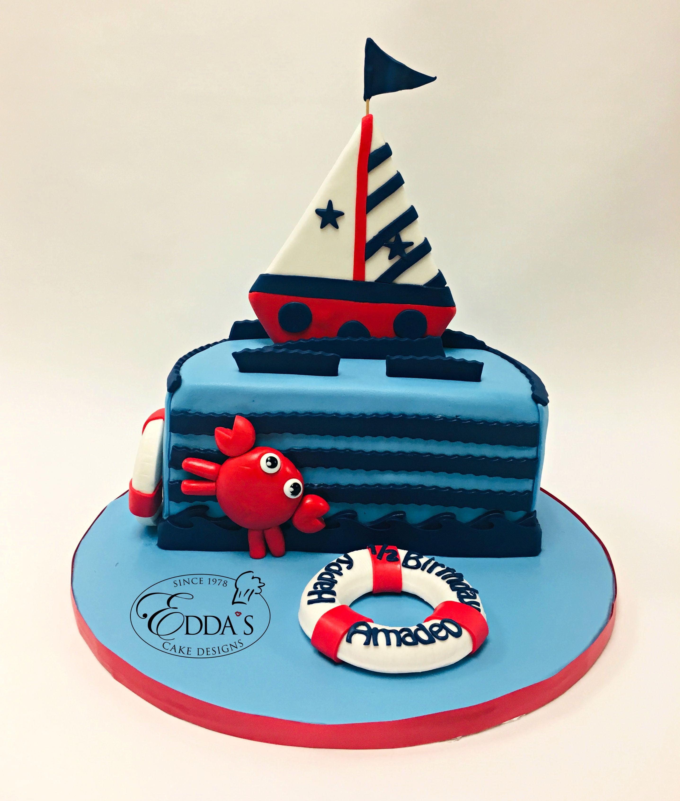 1 2 Birthday Cake Half Birthday Cakes Cake Designs Birthday Half Birthday Baby