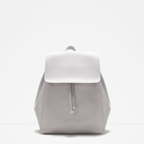 BACKPACK WITH FOLDOVER FLAP