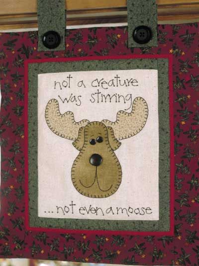Kris Moose wall hanger pattern | christmas | Pinterest