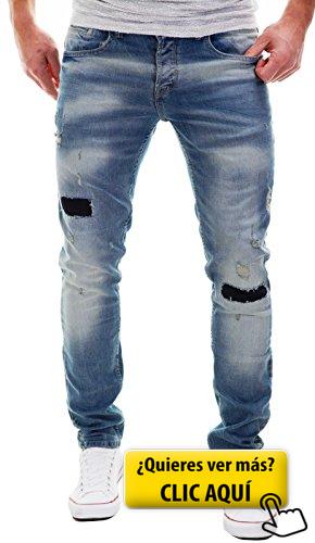 dd20bf1528 MERISH Hombres Vaqueros para Hombre Pantalones...  pantalones ...