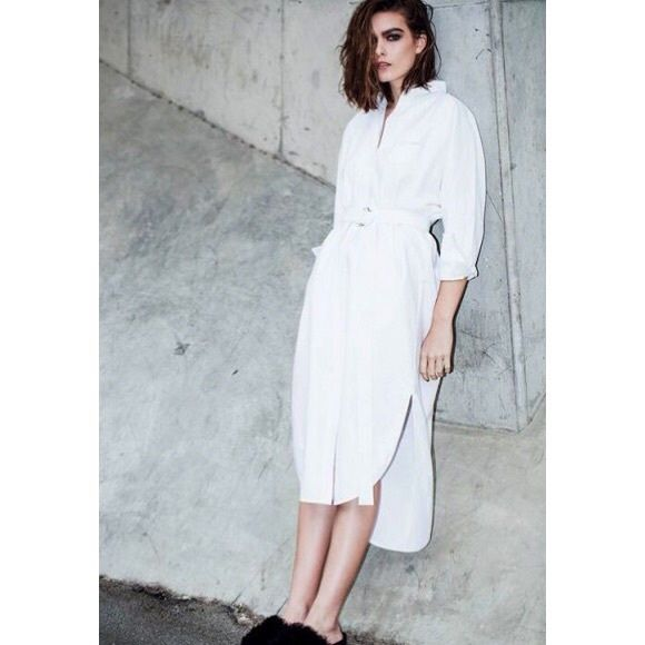 C Meo Collective Say It Right Belted Shirt Dress High Fashion Look For A Low