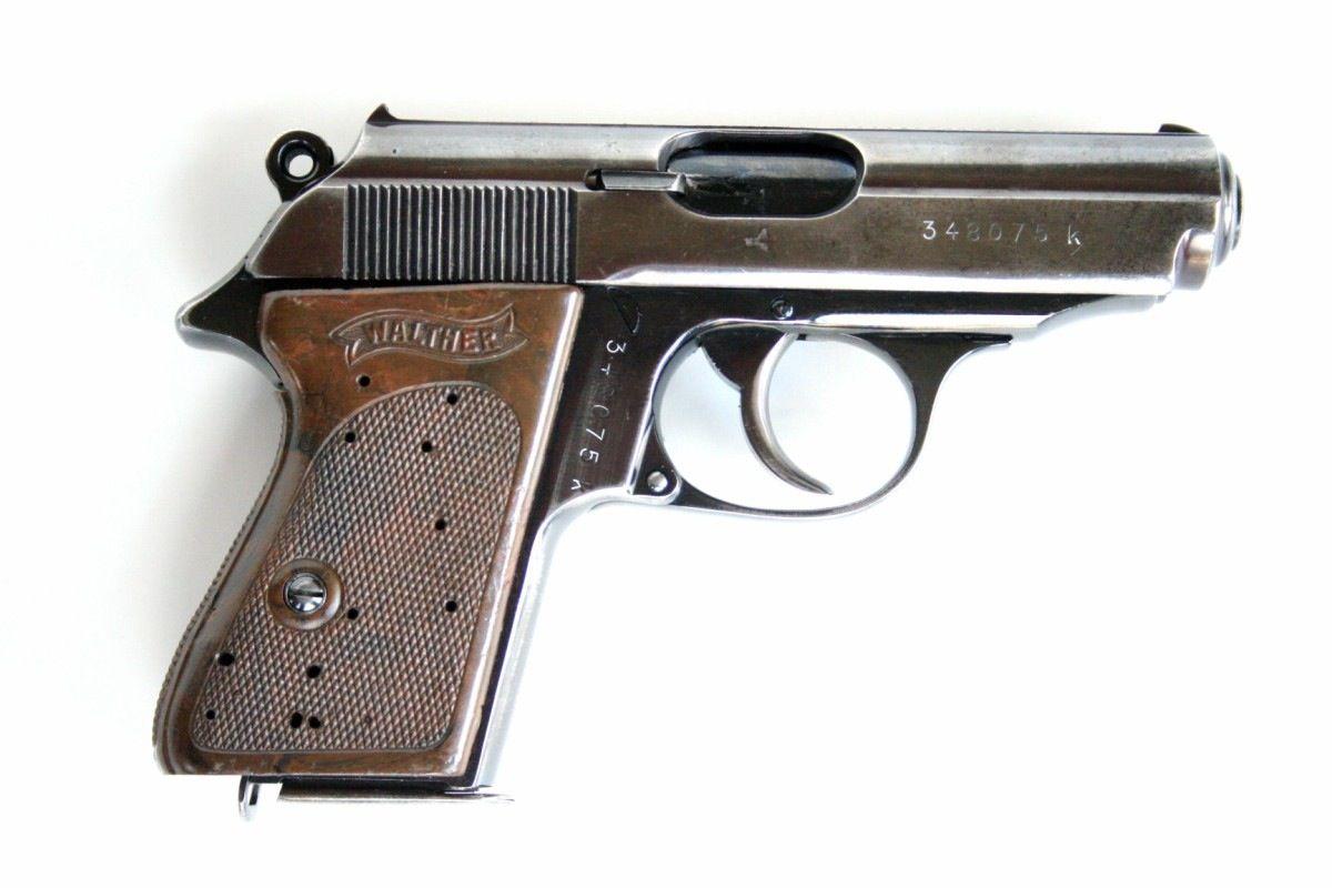 Walther PPK. The James Bond gun!