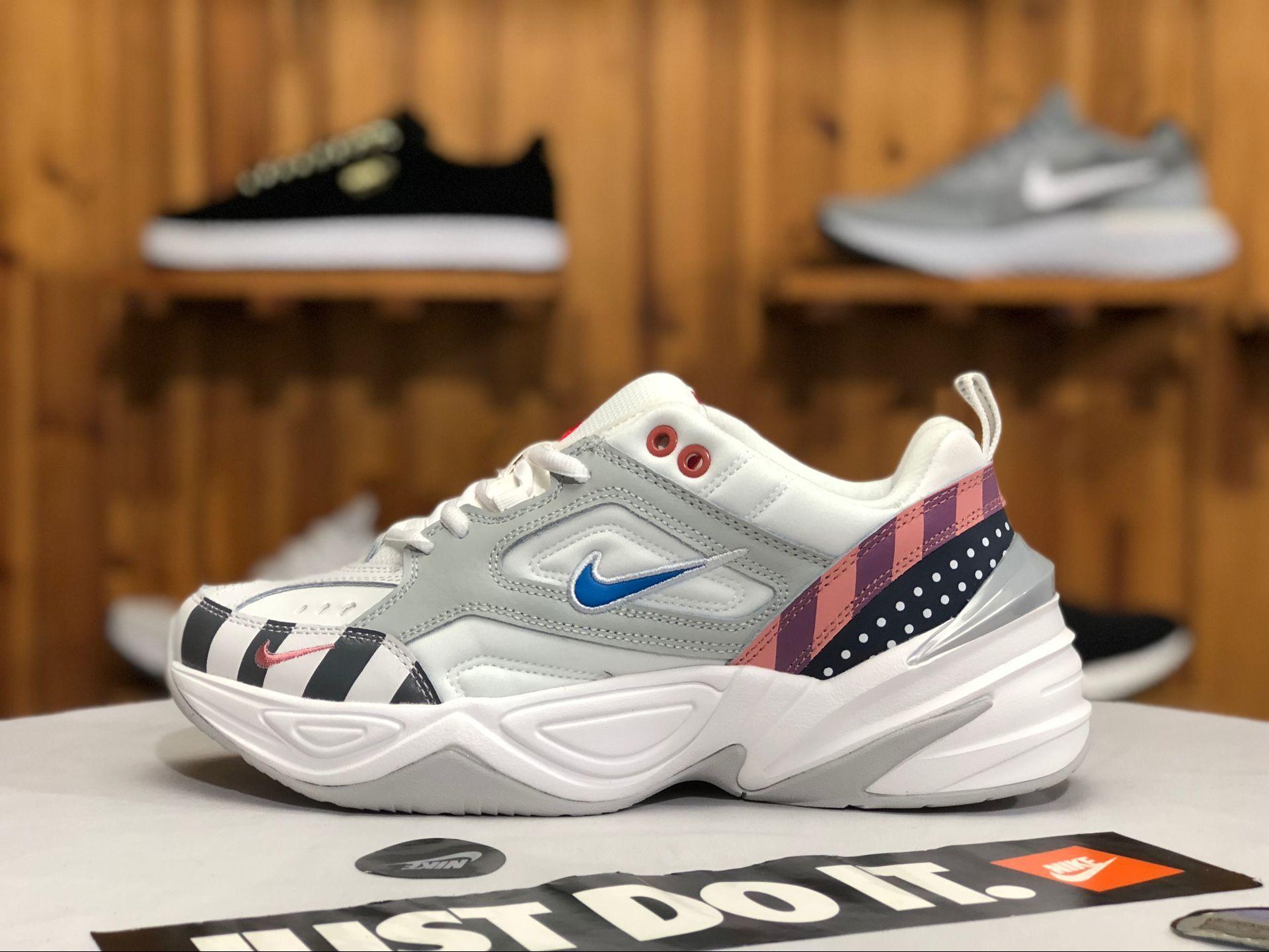 new style 9c105 8e2dc Buy Mens Womens Nike M2K Tekno Parra White Multi-Color
