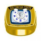 Custom 1970 V Colts Championship Ring
