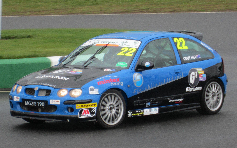 MG Trophy Class B - Full race ZR\'s | MGCC Modern MG\'s | Pinterest | Cars