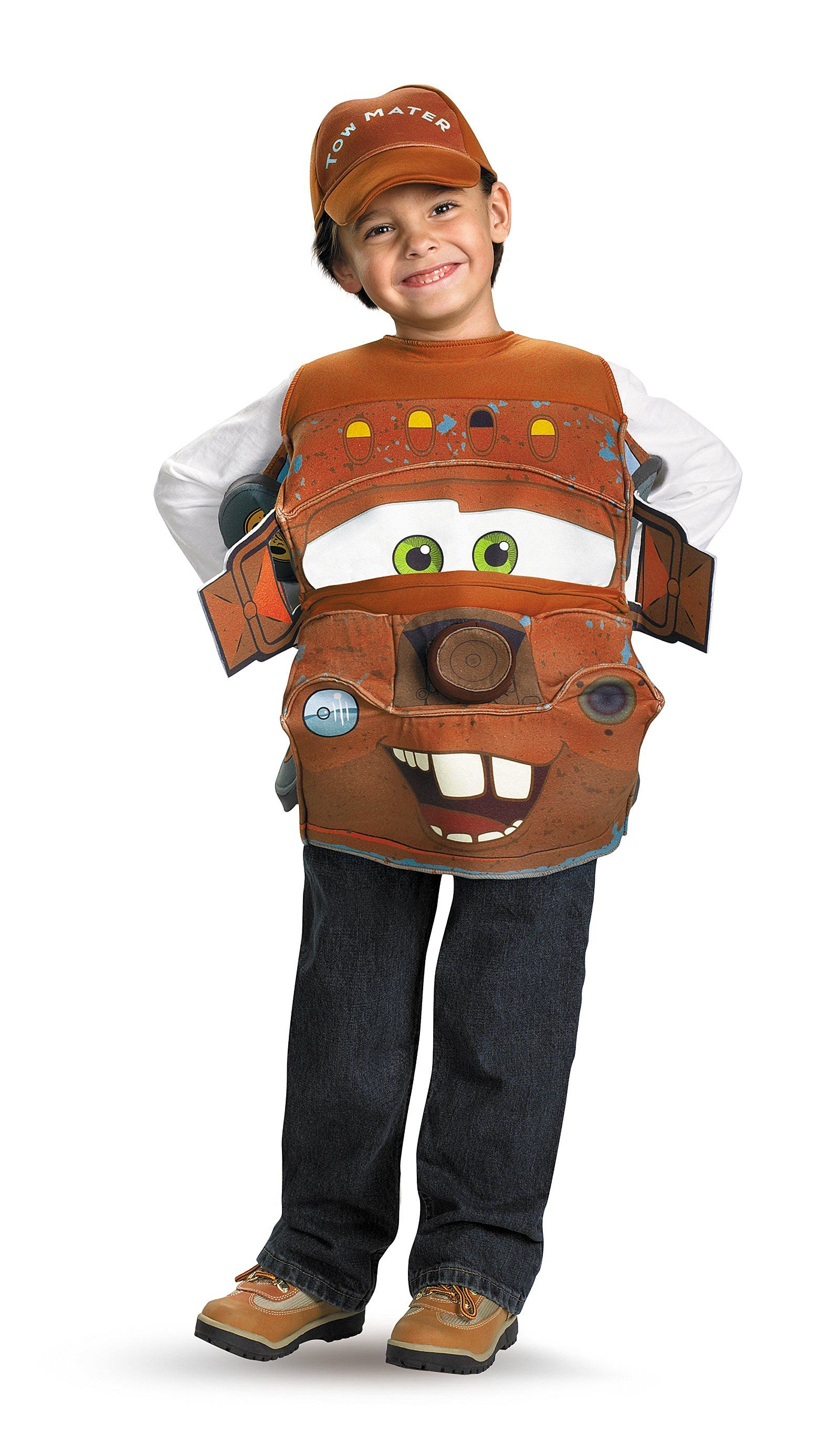 Cars 2 Mater Deluxe Child Costume In 2019 Home Art Painting