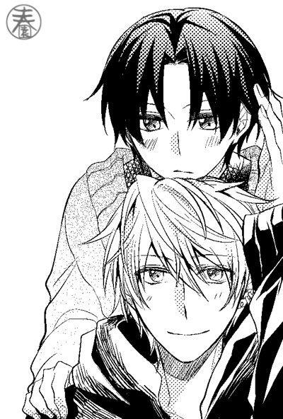 Sekaiichi Hatsukoi Yukina Kou X Kisa Shouta Sekaiichi Hatsukoi And Junjou Romantica Manga Anime Shounen Ai Anime Anime