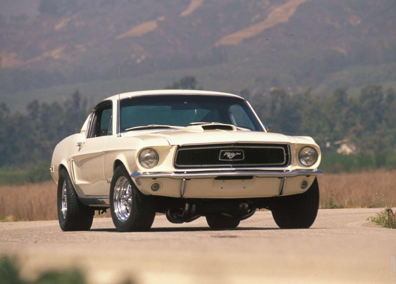 1968 Ford Mustang 428 Cobra Jet Mustang Cobra Autos Mustang