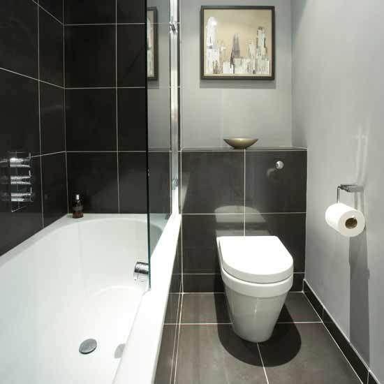 Delightful Housetohome Bathrooms On Bathroom Designs With Small Monochrome Bathroom Small Bathroom Ideas Housetohome Co Uk 12