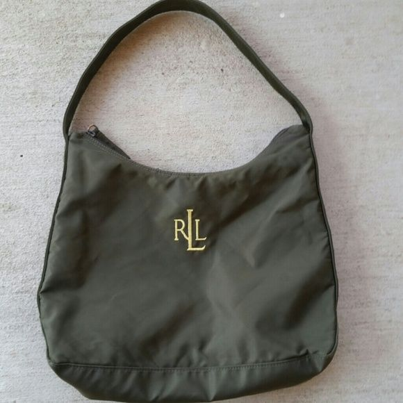 Ralph Lauren bag Cute bag about medium size real cute. Ralph Lauren Bags