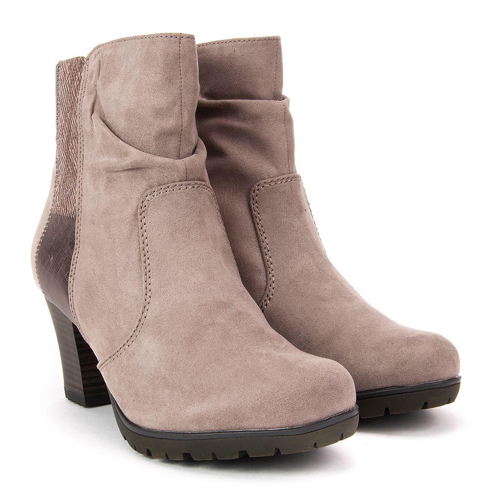Botki Jana 8 25374 29 341 Taupe Botki Na Obcasie Botki Buty Damskie Filippo Pl Boots Ankle Boot Shoes