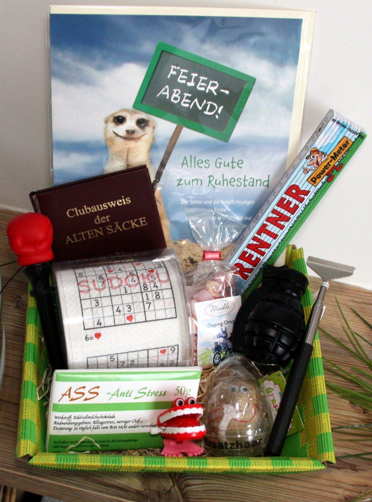 Geschenk Für Rentenbeginn