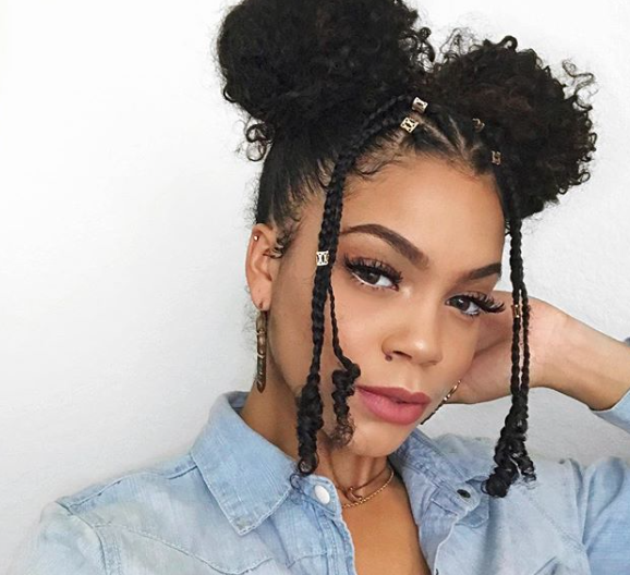 Protective Style 101 17 Hairstyles From Instagram To Help You Slay Summer Natural Hair Styles Easy Natural Hair Styles Curly Hair Photos