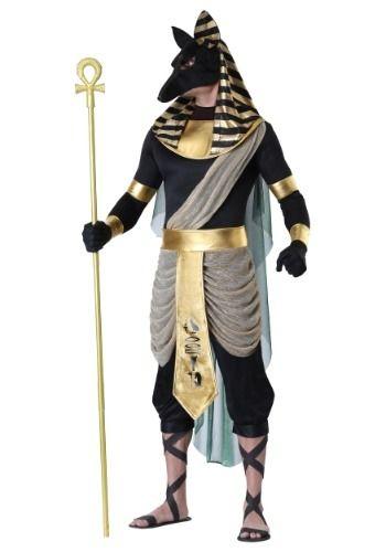 Anubis Plus Size Costume for Men