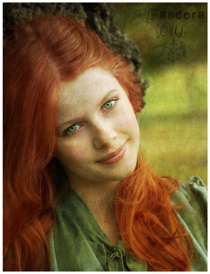 Perfect Red Hair And Green Eyes Grace Holley Chicas Con