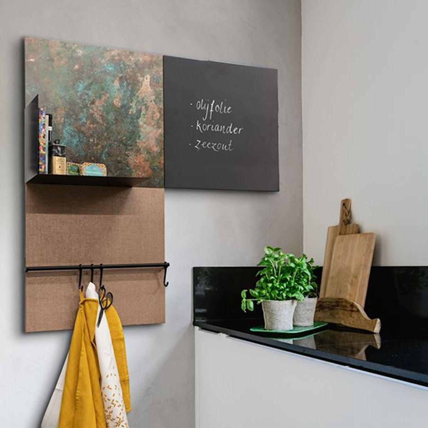 Dockfour Keuken Krijtbord Thuisdecoratie Woonideeen Keuken In Woonkamer